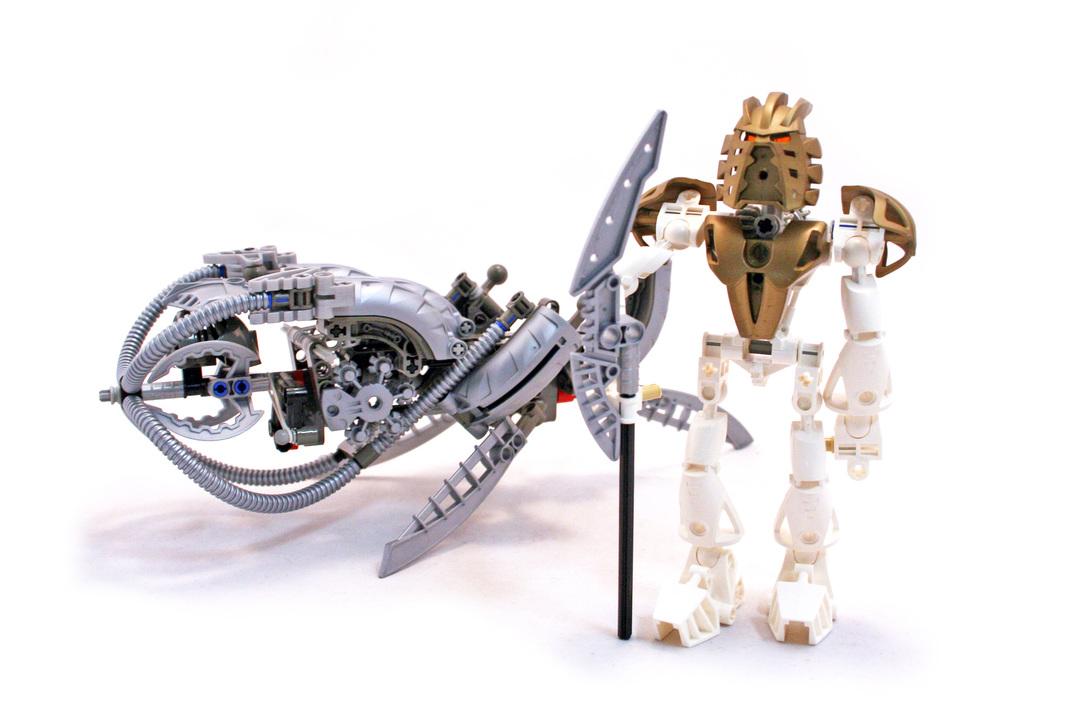 Takanuva - LEGO set #8596-1