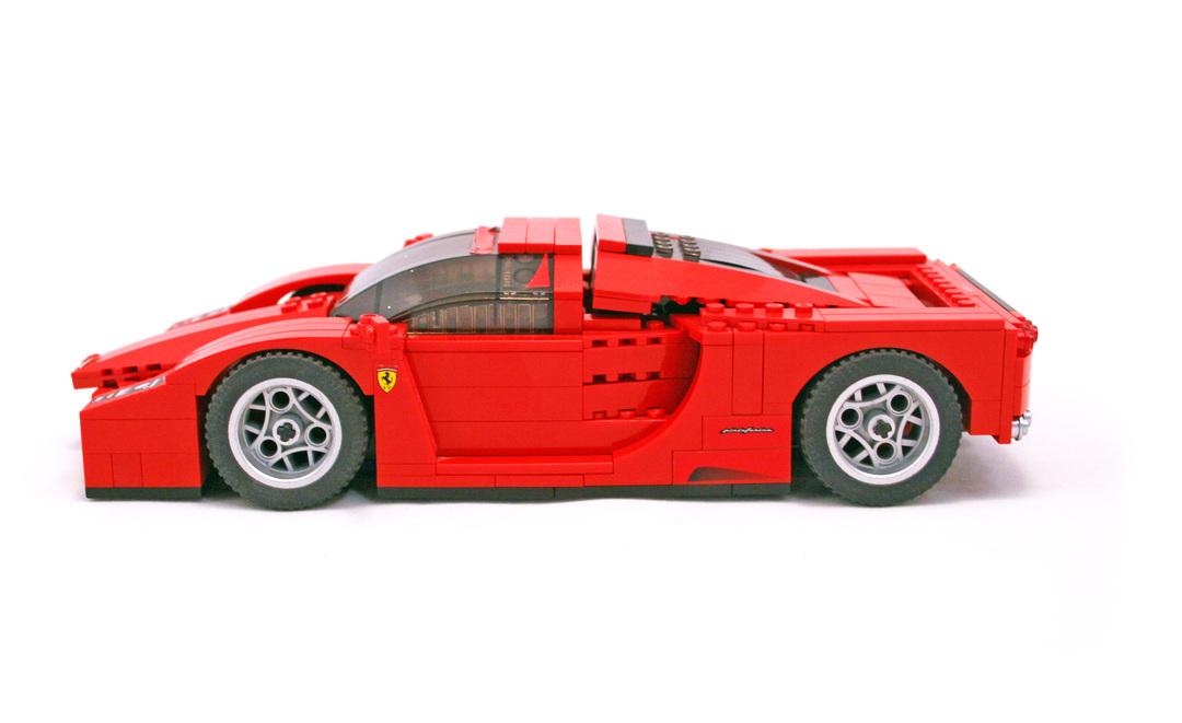Enzo Ferrari 1 17 Lego Set 8652 1 Building Sets Gt Racers