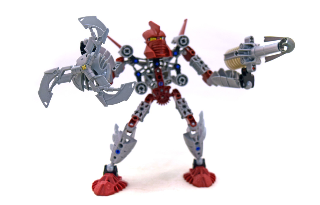 Toa Tahu - LEGO set #8689-1 - 1