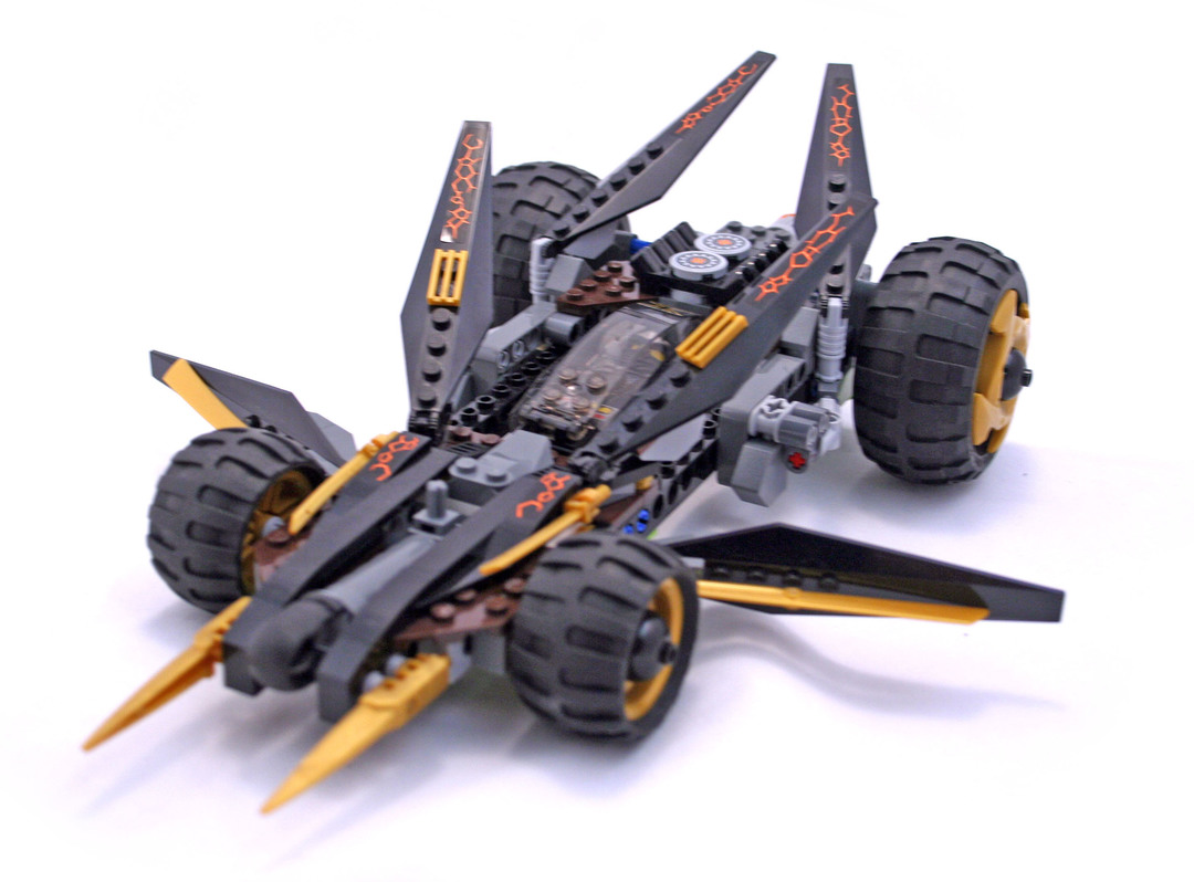 Cole's Tread Assault - LEGO set #9444-1