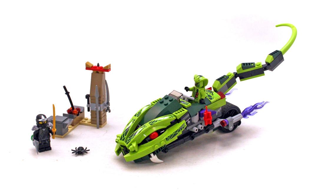 Lasha's Bite Cycle - LEGO set #9447-1