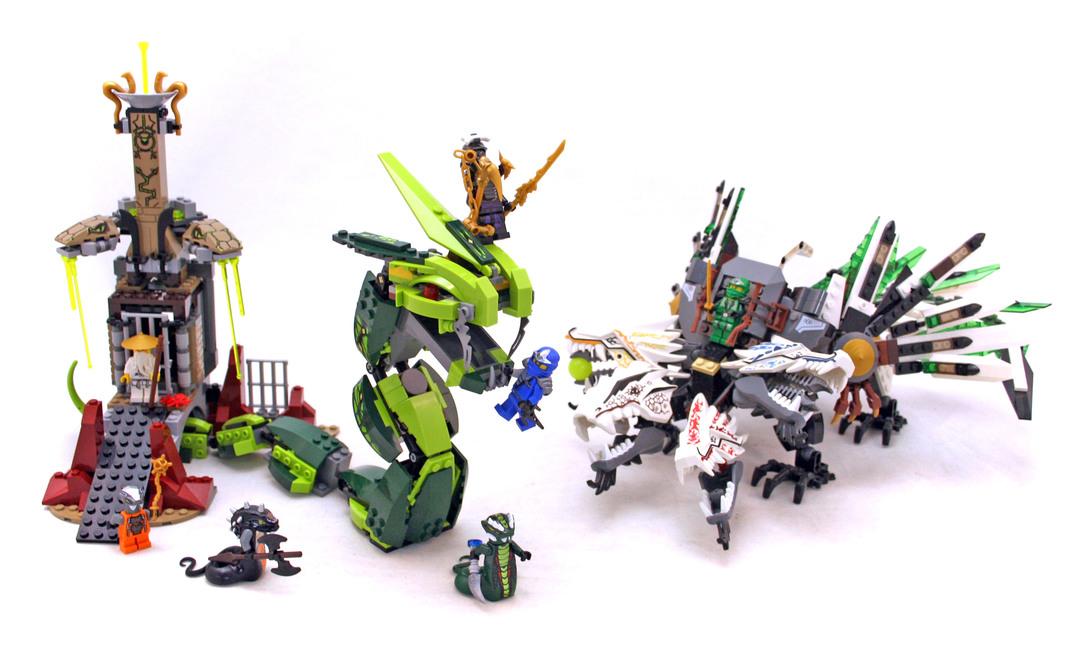 Epic Dragon Battle - LEGO set #9450-1 - 1
