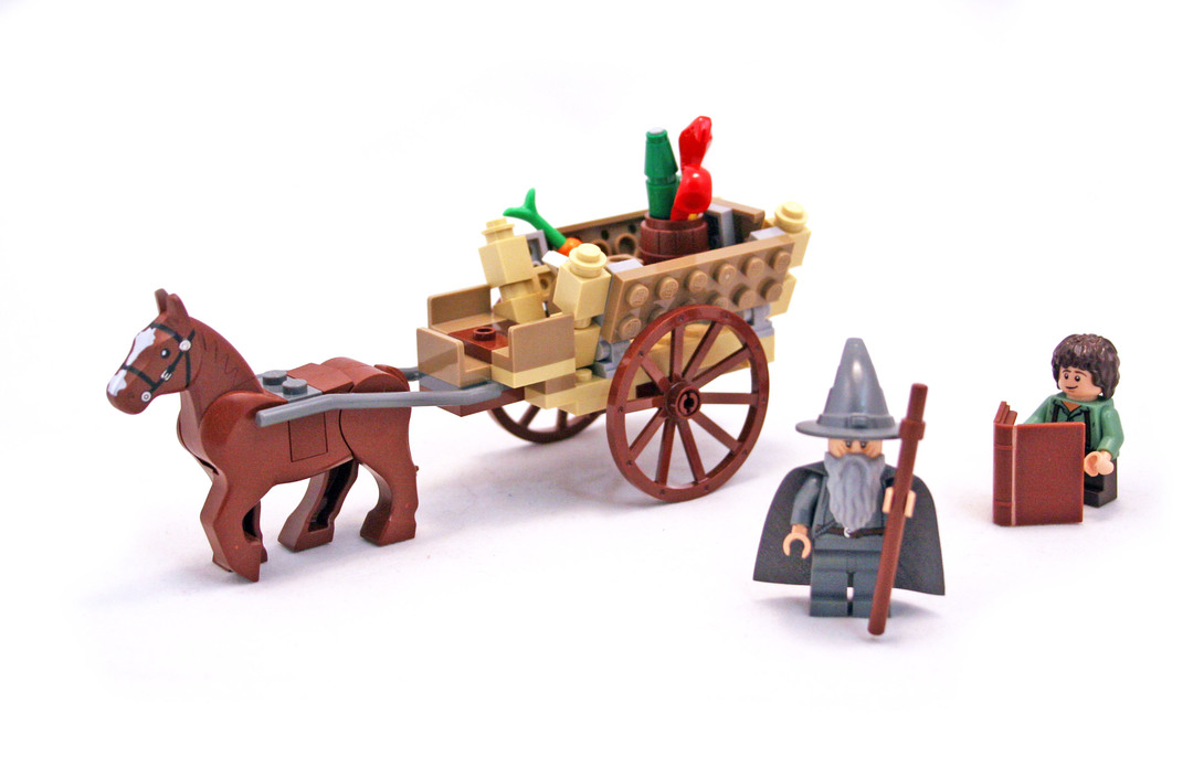 Gandalf Arrives - LEGO set #9469-1