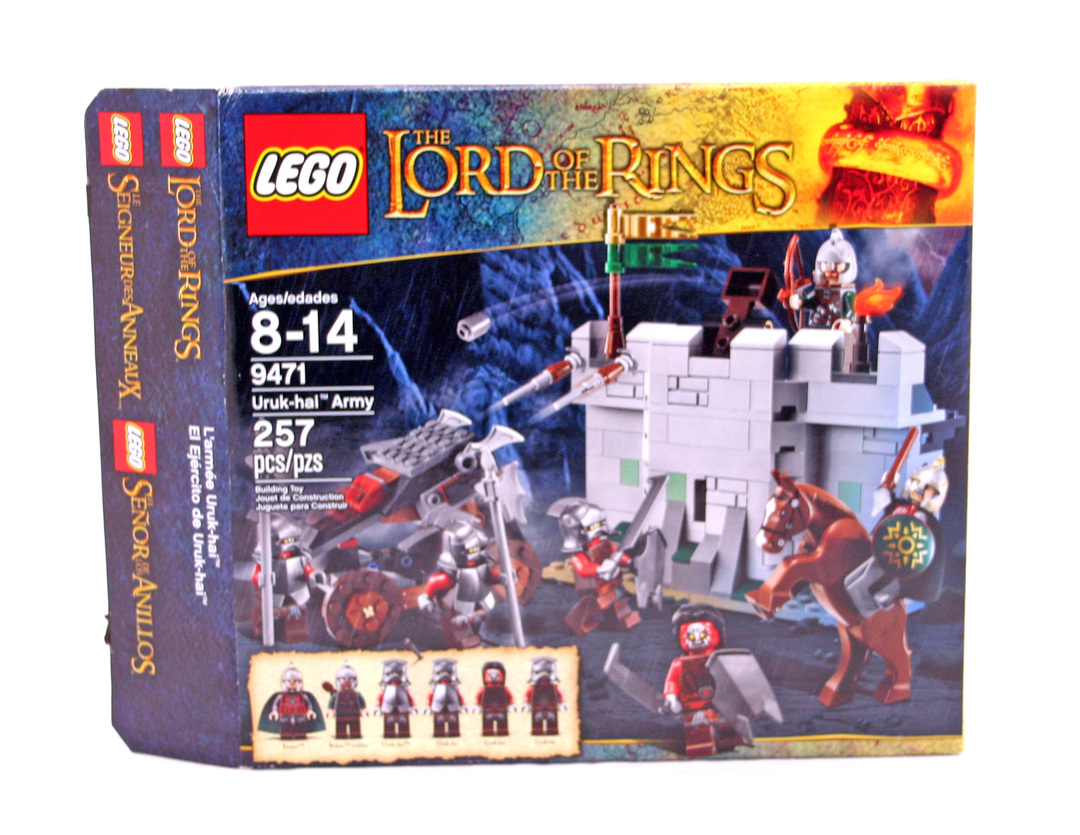 Uruk Hai Army Lego Set 9471 1 Building Sets Lordof The Rings Lord Of Battle At Black Gate 79007