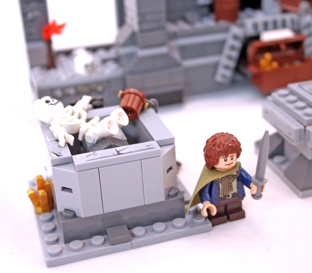 lego mines of moria instructions